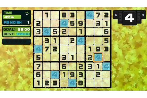 Go Sudoku PSP 09 - Vita Player - the one-stop resource for ...