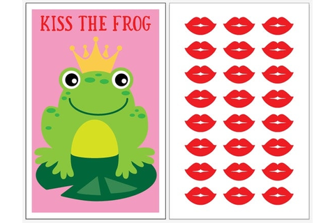 INSTANT DOWNLOAD Kiss the Frog Princess Party Games
