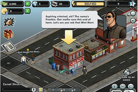 Crime City on Facebook: Grand Theft Auto for the click ...