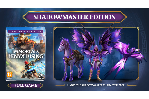 Buy Immortals : Fenyx Rising Shadow Master Edition - GAME ...