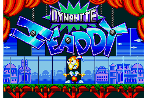 Dynamite Headdy (1994) by Treasure Mega Drive game