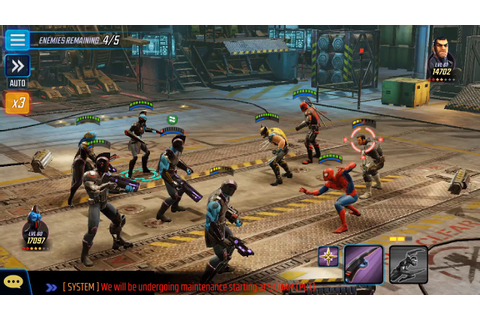 Marvel Strike Force - The Alliance War game mode is now ...