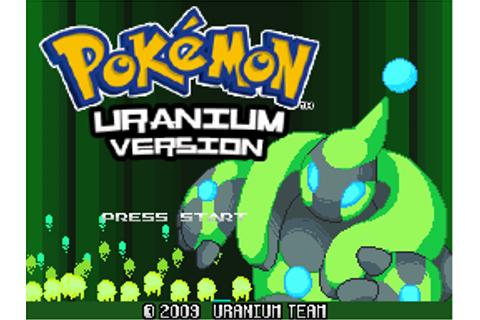 Download :: Pokémon Uranium X: A new Legend