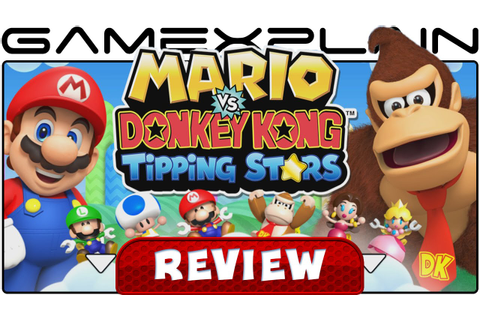 Mario vs Donkey Kong: Tipping Stars - Video Review (Wii U ...