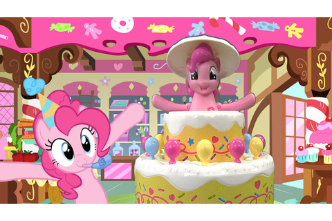 My Little Pony Poppin' Pinkie Pie Game from Hasbro - YouTube