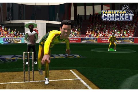 TableTop Cricket for PC and PS3 Launched Amid World Cup ...