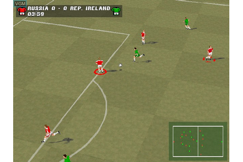 Super Match Soccer for Sony Playstation - The Video Games ...