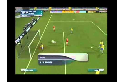 This is football 2005, eng vs brasil, (ps2) recorded in ...