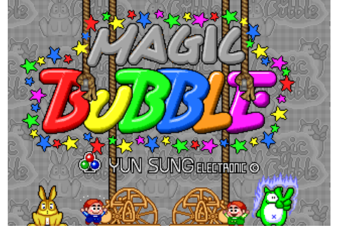 Magic Bubble - Videogame by Yun Sung