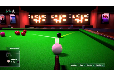 Pure Pool Snooker 147 - YouTube