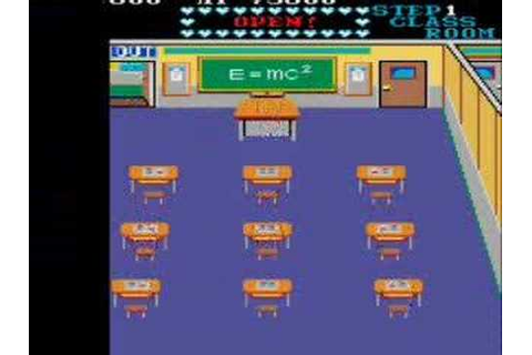 Mikie (Arcade) - Gameplay - YouTube