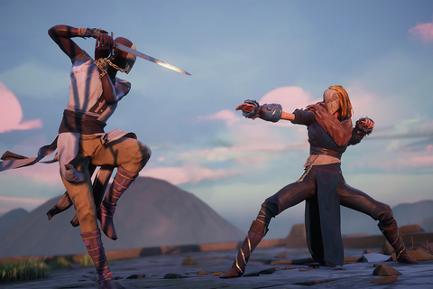 Absolver is a beautiful, mysterious action game without ...