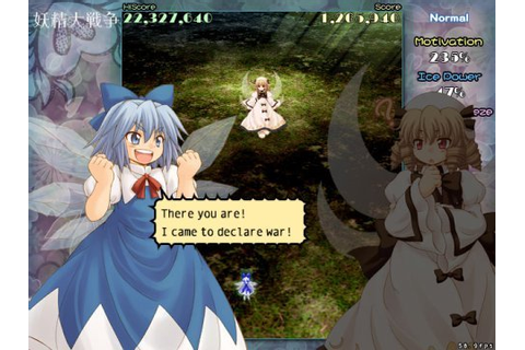 Touhou 12.8th - Fairy Wars - PC Game