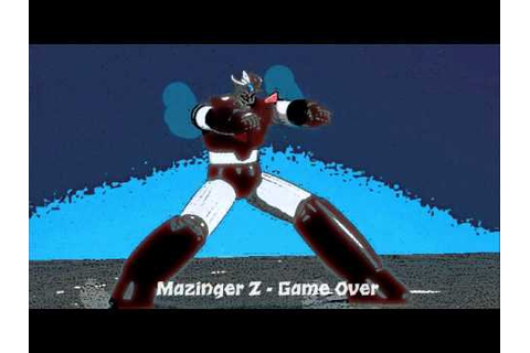 Mazinger Z - Game Over.wmv - YouTube