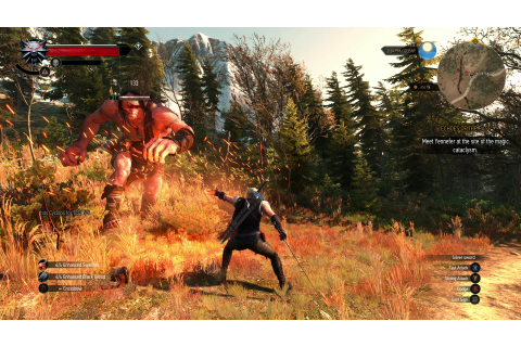 Witcher 3: Wild Hunt PC Ultra Settings Gameplay GTX 980