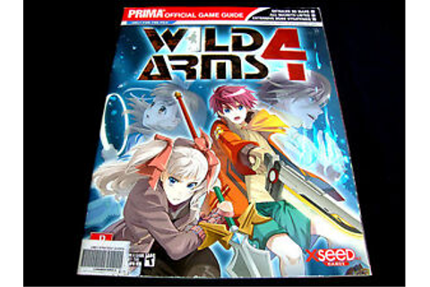 WILD ARMS 4 PRIMA OFFICIAL GAME GUIDE PLAYSTATION 2 | eBay