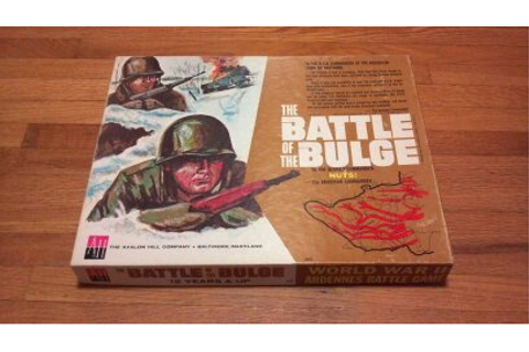 1965 The Battle of the Bulge board or table game. Avalon ...