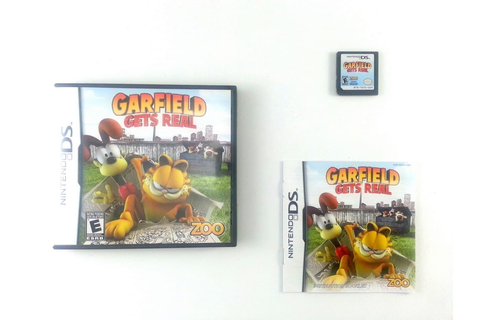 Garfield Gets Real game for Nintendo DS (Complete) | The ...