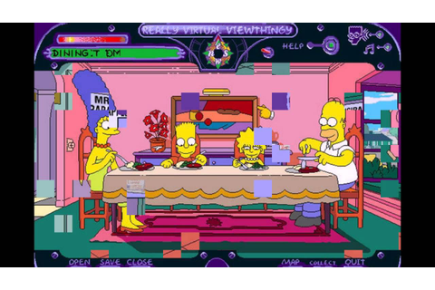 The Simpsons Virtual Springfield PC 1997 Gameplay - YouTube