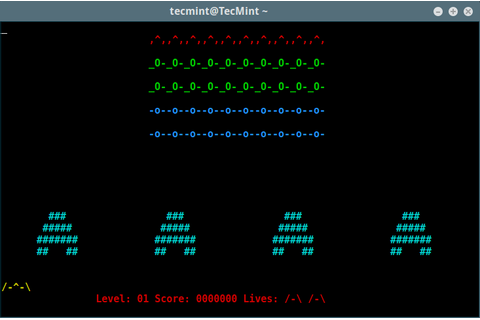 Play Space Invaders - An Old School Arcade Game on Linux ...