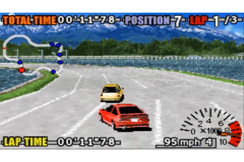 GT Advance 3: Pro Concept Racing (Gameboy Advance Gameplay ...