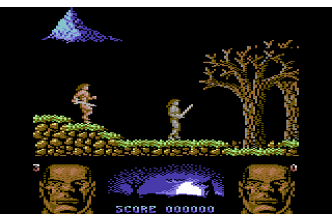 Storm Warrior (1988) by Elite C64 game
