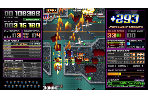 Dangun Feveron Trailer Revealed For Xbox One