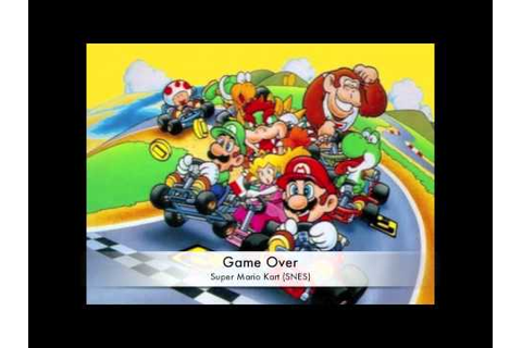 Super Mario Kart - Game Over - YouTube