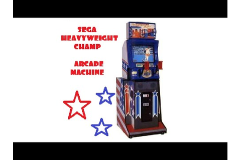 Heavyweight Champ Arcade Videogame Game Machine - YouTube