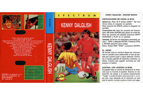 Kenny Dalglish Soccer Match - World of Spectrum
