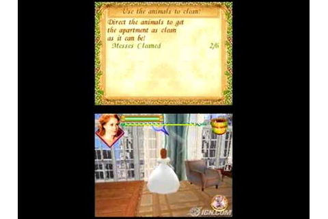Disney Enchanted DS Game Gameplay-Giselle - YouTube