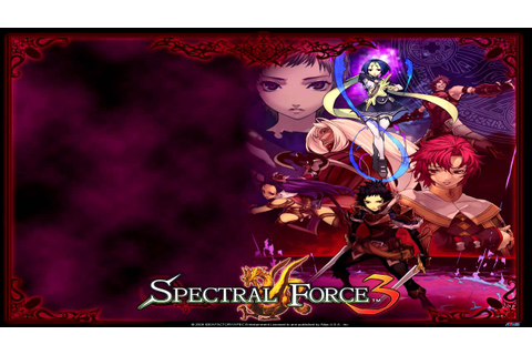 Spectral Force 3 ~Innocent Rage~ OST Track 24 Game Over ...