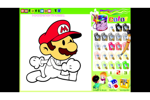 Mario Paint And Color Games Online - Mario Painting Games ...