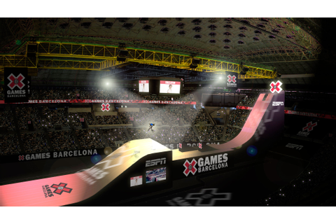 Big Air, X Games Barcelona - X Games 2013 3D renderings ...