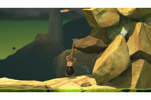 Getting Over It with Bennett Foddy Review - Gamereactor