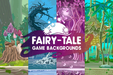 Free Fairy-Tale Game Backgrounds - CraftPix.net