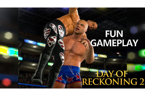 WWE Day of Reckoning 2: Fun Gameplay - YouTube