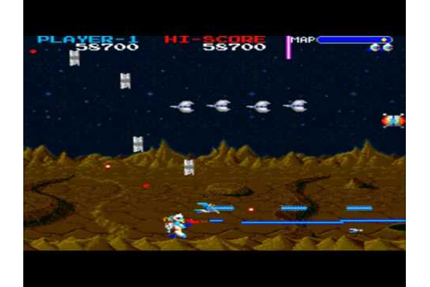 Exzisus Lv1-2 1987 Taito Mame Retro Arcade Games - YouTube