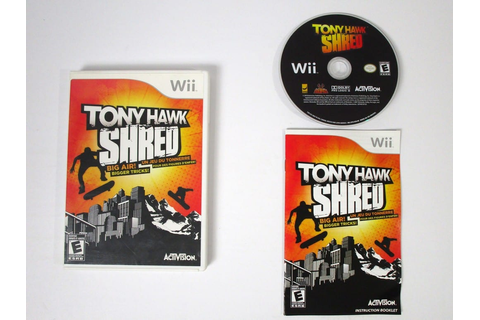 Tony Hawk: Shred game for Wii (Complete) | The Game Guy