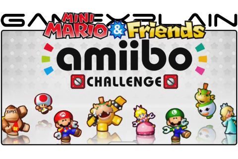 Mini Mario & Friends: amiibo Challenge - Game & Watch ...