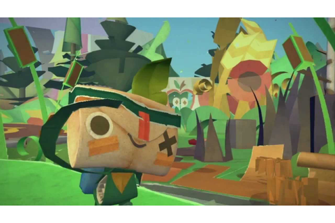 Tearaway - Gamescom 2012 Announce Trailer - YouTube