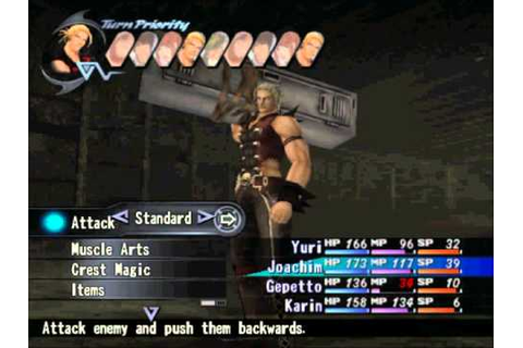 Shadow Hearts: Covenant Gameplay - YouTube