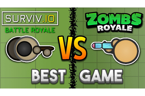 Surviv.io VS. Zombsroyale.io - Which Is The Best 2D Battle ...