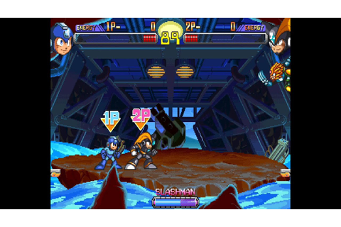 Mega Man 2: The Power Fighters 2 player Netplay game- all ...