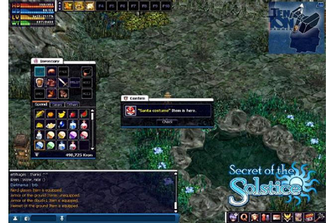 Secret of the Solstice ~ MMO Game Zone