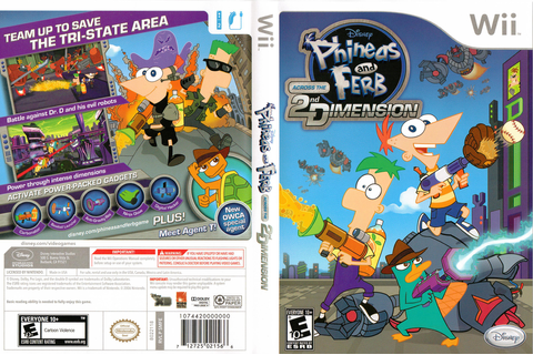 SMFE4Q - Phineas and Ferb: Across the 2nd Dimension