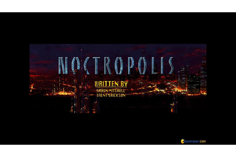 Noctropolis gameplay (PC Game, 1994) - YouTube