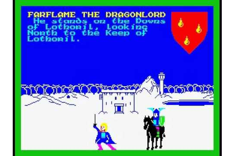 The Lords of Midnight Walkthrough (Ice Crown victory), ZX ...