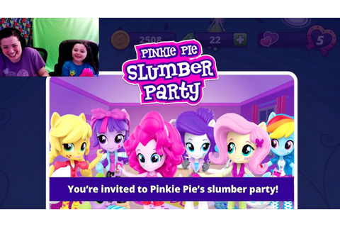 Equestria Girls Friendship Games My Little Pony App Pinkie ...