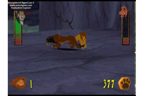Game Over - The Lion King: Simba's Mighty Adventure (PS1 ...